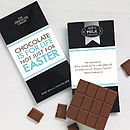 'Chocolate's Not Just For Easter' Bar
