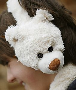 Bear Ear Muffs - hats, scarves & gloves
