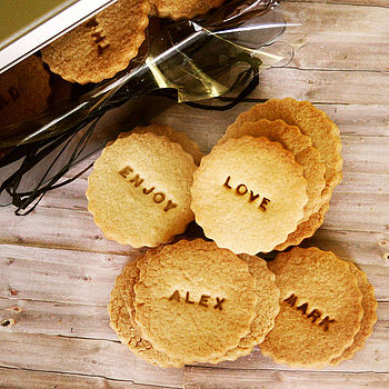 Bag Of Six Personalised Biscuits