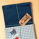 Make And Sew Baby Car Dungarees Kit