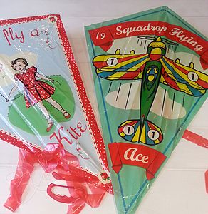 Vintage Style Kite - outdoor toys & games