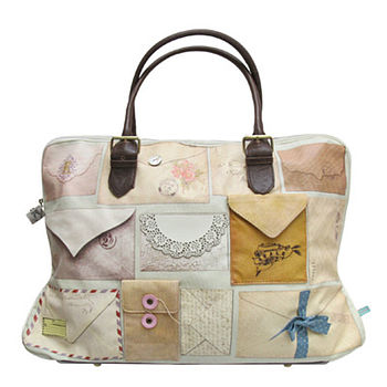'Sealed With A Loving Kiss' Weekend Bag