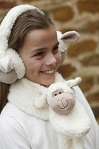 Sheep Scarf - children's accessories
