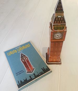Make Your Own London Big Ben