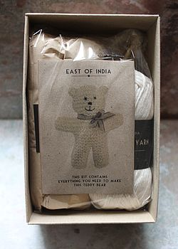 Knit Your Own Teddy Bear Kit