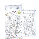 Personalised Colour In Fairy Princess Poster