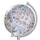 Illustrated Globe Of Rome