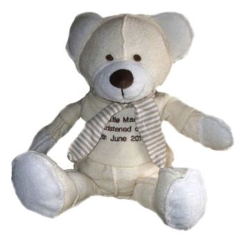 Personalised New Baby Teddy Bear Toy