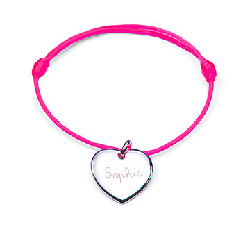 Bridesmaids' Personalised Neon Bracelet