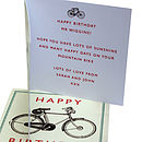 Card with Personalised Message