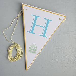 Happy Easter Bunting - easter decorations