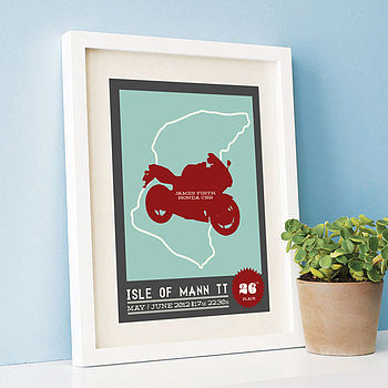 Personalised Road Trip Print