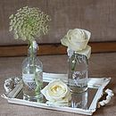 Mirror Tray Table Centre