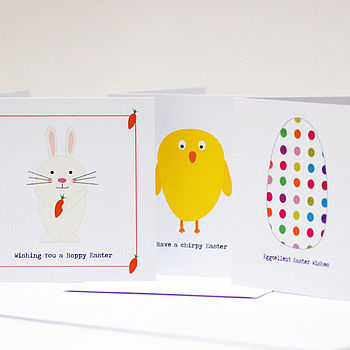 Easter Cards: Pack Of Six