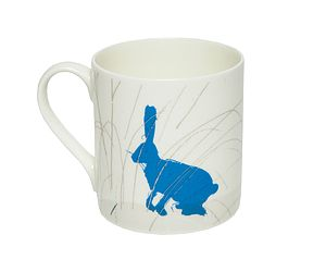 Hare Fine Bone China Mug - easter home