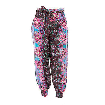 20% Off Floral Print Harem Yoga Pants