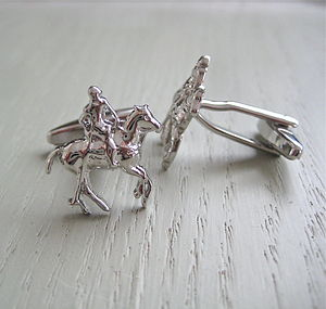 Polo Horse Cufflinks - men's accessories