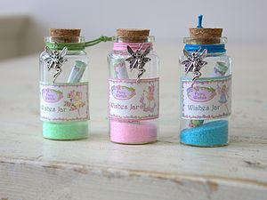 Fairy Wishing Jars - children's parties