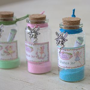 Fairy Wishing Jars - stationery & creative activities