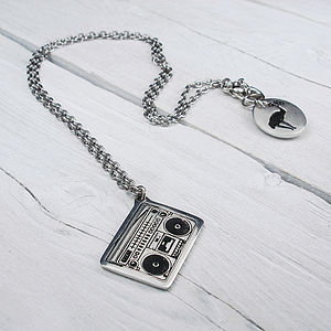 Ghetto Blaster Chain Necklace
