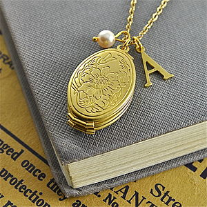 Personalised Multi Aperture Initial Locket - jewellery for women