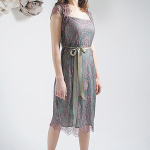 Moth And Pink Olivia Lace Dress