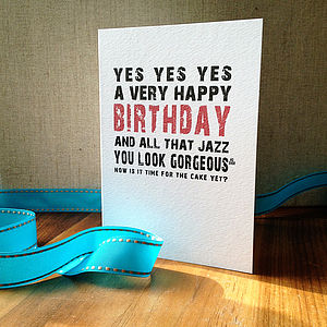 'A Very Happy Birthday' Card