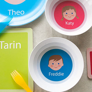Personalised Bowl - children's tableware