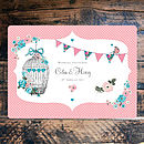 Vintage Tea Party - Wedding Invitation back