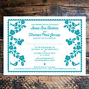 Forever My Love Wedding Invitation- Front