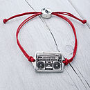 Ghetto Blaster Friendship Bracelet