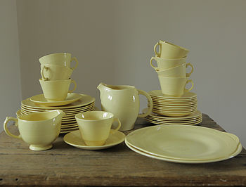 1940s Selection Of Crockery
