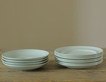 Vintage Saucers And Plates