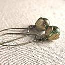 Vintage Style Tulip Earrings