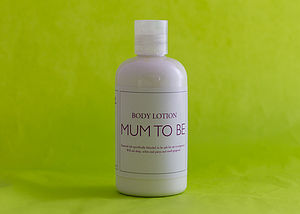 Mum To Be Body Lotion - bathroom