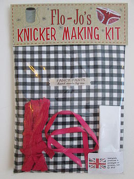 Flo Jo's Knicker Making Kit