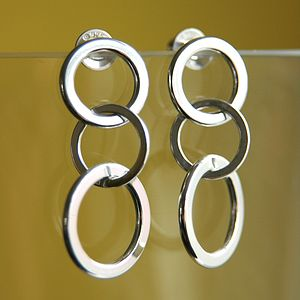 Garland Chain Earrings - summer sale