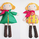 Personalised Handmade Doll