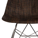 A Rocking Chair, Natural Weave, Retro Modern