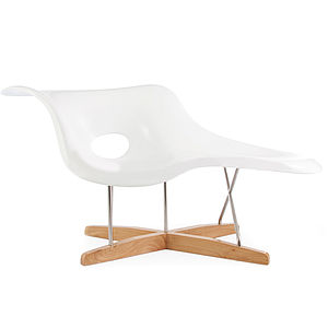 An Eames Style, Chaise Longue - furniture delivered for christmas