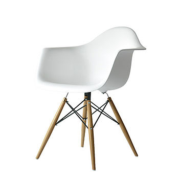 A Chair, Eames Style Dining Or Office Chair