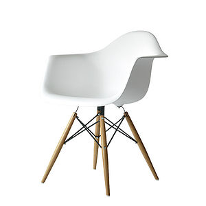 A Chair, Eames Style Dining Or Office Chair - furniture