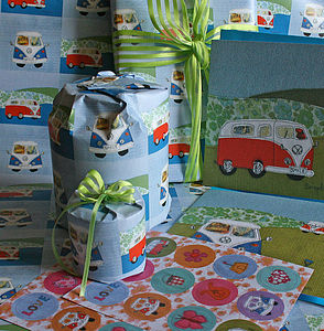 Gift Wrap And Tags   Two Sheets And Two Tags