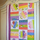 Personalised Applique Quilt