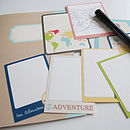 Travel Memory Journal Kit
