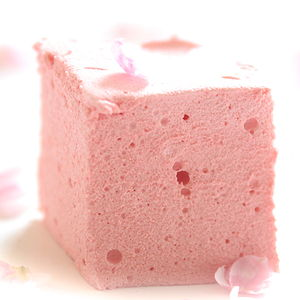 Rose Lychee Marshmallows - marshmallows