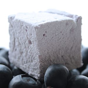 Blueberry Marshmallows - sweet treats