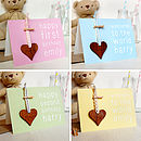 The Hearts Can Be Presented On A Personalised Card