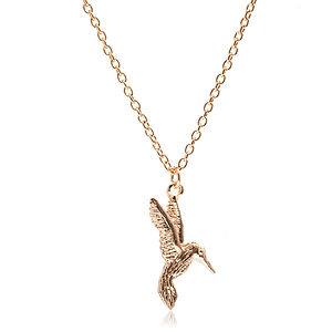 Hummingbird Necklace - necklaces & pendants