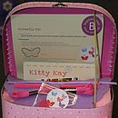 Butterfly Sewing Craft Kit Gift Box Girls Gift